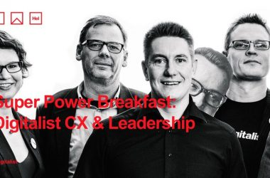 Digitalist Group -VIP-tilaisuus 4.9.2018: CX is the New Black in Leadership