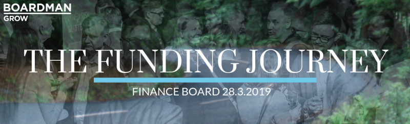 Finance Board 2019: The Funding Journey