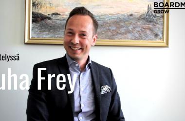 """Boardman Grow hallituksen puheenjohtaja Juha Frey: """"Suomalaisten yritysten on kasvettava nopeammin ja suuremmiksi"""""""