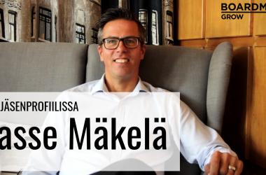 VIP-jäsenprofiili: Lasse Mäkelä, Kasvurahoituskehittäjä