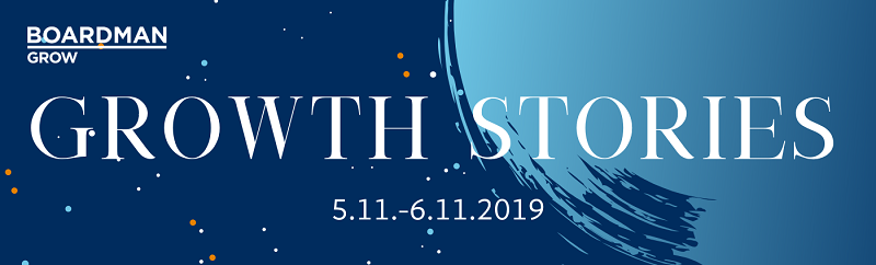 GROWTH STORIES 5.11.-6.11.2019