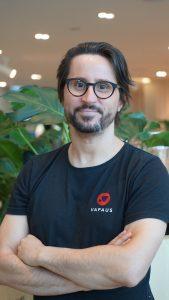 Vapaus.io:n perustaja ja toimitusjohtaja Mikko Ampuja